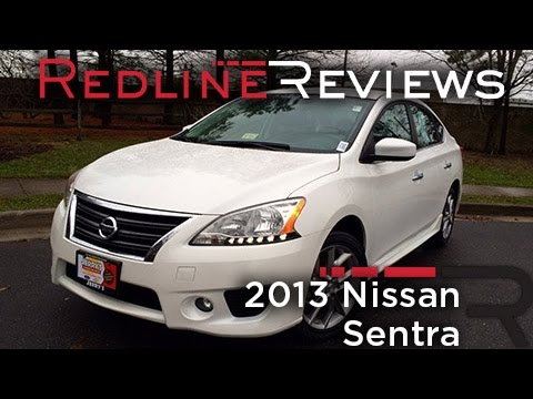 2013 Nissan Sentra Review, Walkaround, Exhaust, & Test Drive