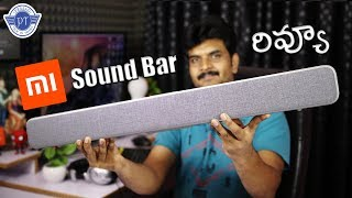 Xiaomi 33-inch TV Soundbar Review ll in telugu ll by prasad ll
