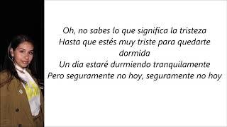Alessia Cara - Not Today (Letra en español)