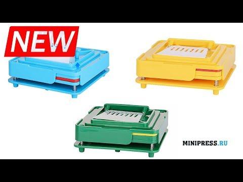🔥Máquina de cápsulas manual CAP-10 extra video Minipress.ru