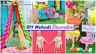 Mehndi DIY Decoration   Ceremony ideas   DIY Queen