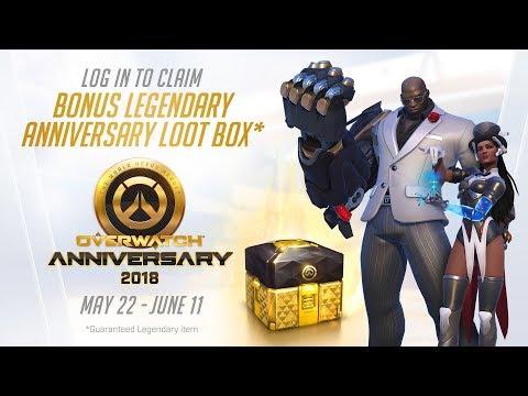 Overwatch Anniversary event NOW LIVE: New 2018 Skins, Start