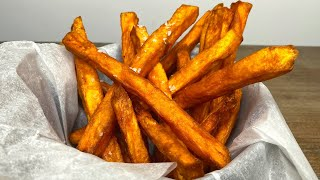 how long to cook homemade sweet potato fries in oven