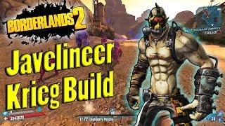 Borderlands 2   Powerful Javelineer Krieg Build Showcase