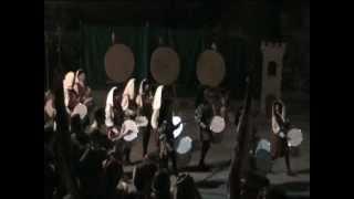 preview picture of video 'Palio degli Arcieri di Signa 2012 [parte 2] tamburi'