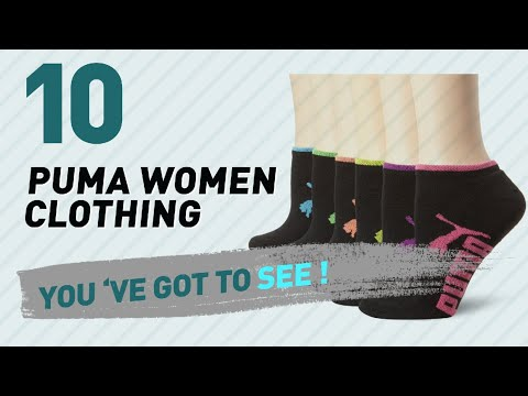Puma Women Clothing, Top 10 Collection // New & Popular 2017