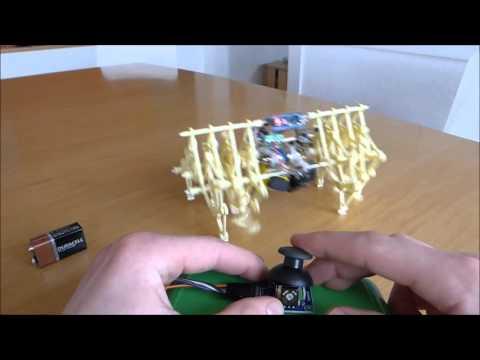 Motorized strandbeest with arduino