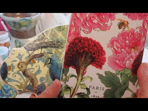 Best Napkin Decoupage DIY for Beginners 2019