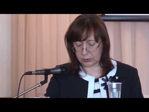 Доклад Людмилы Виноградовой.