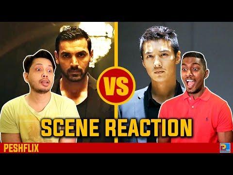 Rocky Handsome vs The Man From Nowhere | Fight Scene Reaction | PESHFlix Entertainment