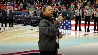 RJ Griffith - UIC National Anthem Performance