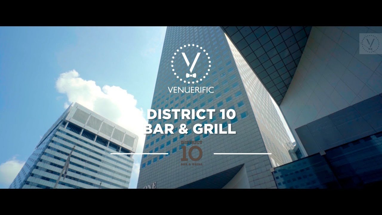 District 10 Bar & Grill (Suntec) video preview
