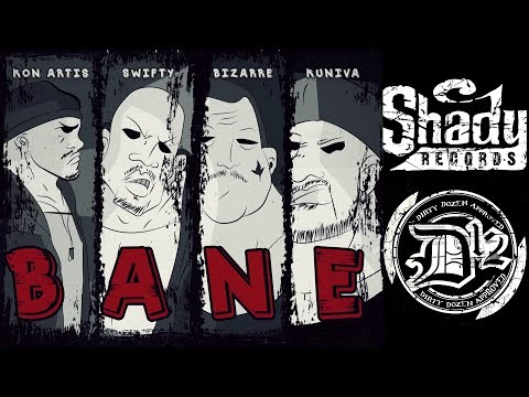 D12 - Bane | ShadyXV (Lyric Video 2018)