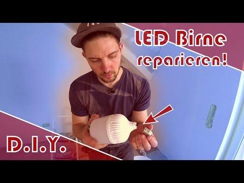 LED Birne reparieren (E27-Fassung)