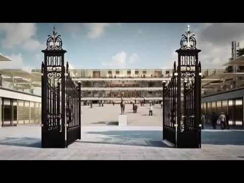 The Architectural Project at Longchamp Racecourse