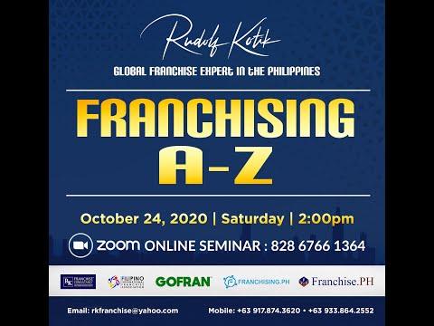 , title : 'FRANCHISING A Z BY RUDOLF KOTIK