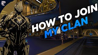 Warframe: How to join my clan 2020
