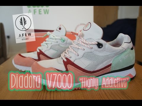 "Afew x Diadora V7000 ""Highly Addictive"" 