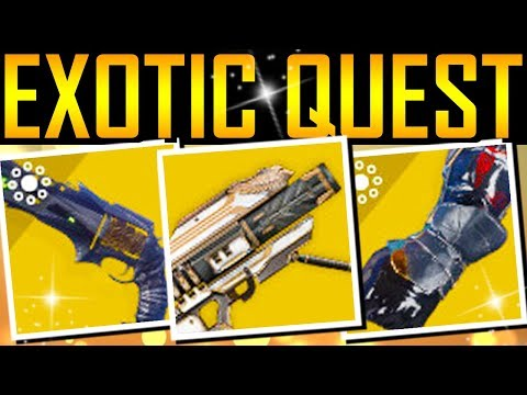 Destiny 2 - THE BIG EXOTIC QUEST VIDEO!