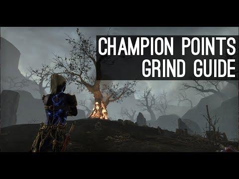Champion Points Grind Guide — Elder Scrolls Online