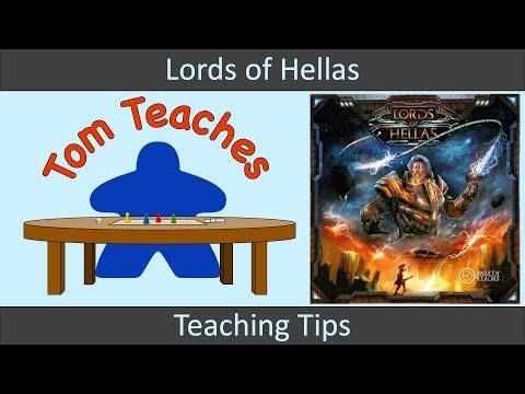 Tom Teaches Lords of Hellas (Teaching Tips)