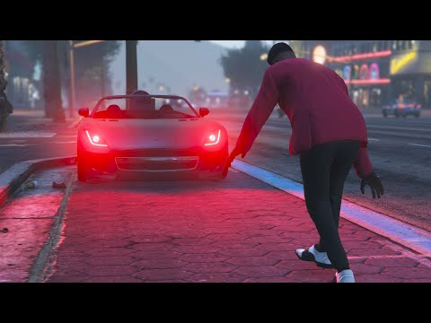 GTA V | The Weeknd Blinding Lights Music Video | (Unofficial)