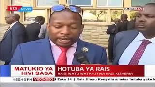 Governor Mike Sonko's sentiments after Uhuru's state of the nation address