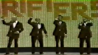 """The Drifters - """"Up On The Roof"""" - Live -1974"""