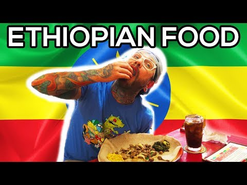 Download Eat Ethiopian Food With Injera Video 3GP Mp4 FLV HD Mp3
