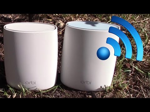 Netgear Orbi Review:  Mesh Network Router and Satellite