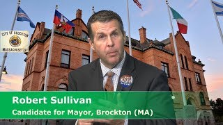 MCTV Boston Final Interview with Robert Sullivan, Candidate for Mayor of Brockton (MA)
