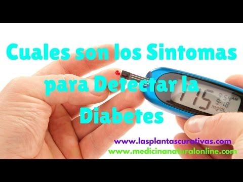 Síntomas de la diabetes en la piel del hombre