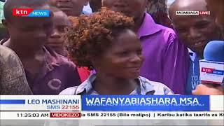 Wafanyibiashara Mombasa walalamikia mahangaiko mbali mbali
