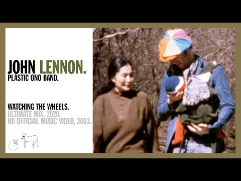 Watching The Wheels - John Lennon (official music video)