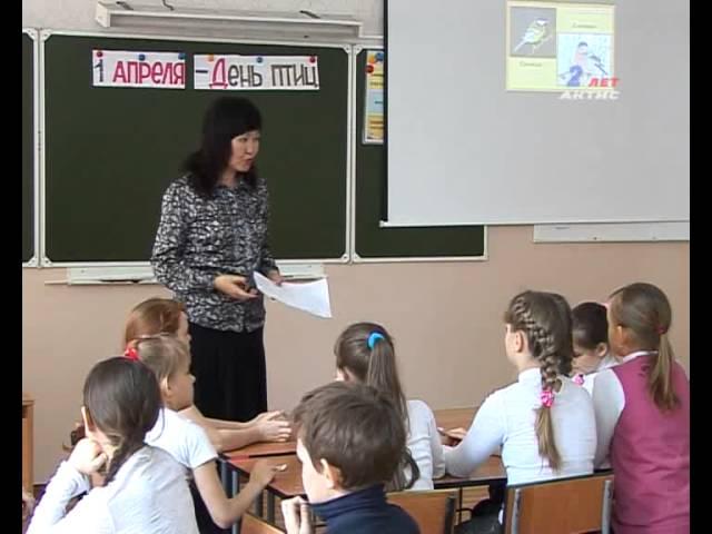 В Ангарских школах провели День птиц
