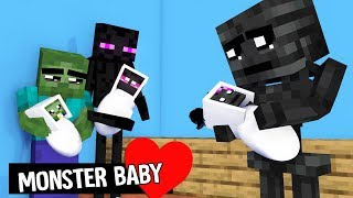 MONSTER SCHOOL :  BREWING BABY - FUNNY MINECRAFT ANIMATION