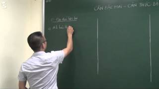 Căn bậc hai, Căn thức bậc hai - Luyện thi vào lớp 10 môn toán