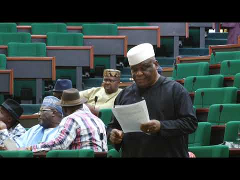 Hon Jerry Alagbaoso ,16 May 2019   Bill to establish the south east development commission to serve