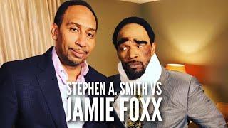 Stephen A. Smith VS Cleveland A. Smith (Jamie Foxx) on ESPN First Take