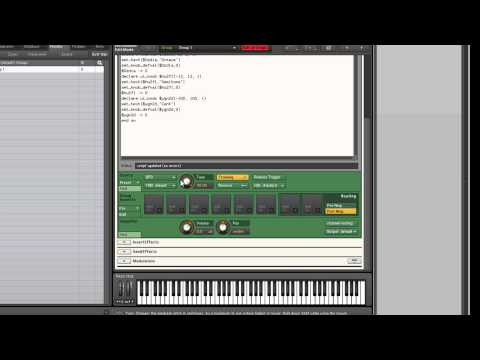 Scripting coarse and fine tuning knobs in Kontakt