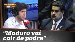"""""""Maduro vai cair de podre"""", diz Caio Coppolla"""
