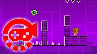 360° Video - Stereo Madness, Geometry Dash!