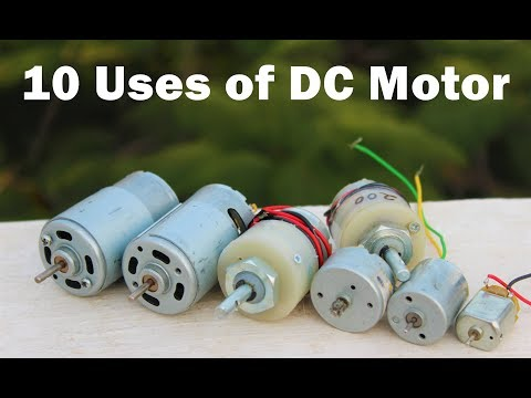 10 useful things from DC motor – DIY Electronic Hobby