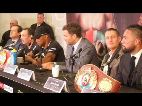 ANTHONY JOSHUA v JOSEPH PARKER - (FULL & COMPLETE) OFFICIAL PRESS CONFERENCE w/ EDDIE HEARN