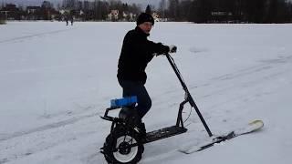 Мотофинки для рыбалки с ездой по снегу нехт 2