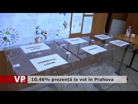10.46% prezență la vot în Prahova