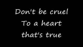 Dont Be Cruel - The Judds - with lyrics