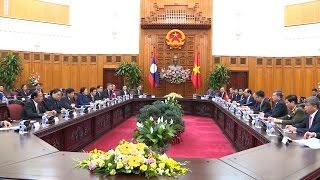Tin Tức 24h: Thủ tướng Nguyễn Xuân Phúc tiếp Chủ tịch Quốc hội Lào