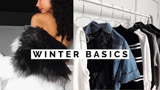 10 Winter Basics EVERYONE Needs! | Wardrobe Basics