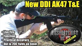 DDI AK47 Live Fire Test